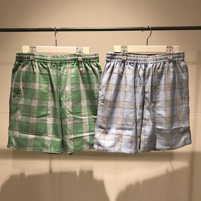 """VOTE MAKE NEW CLOTHES """"SKATE NEL SHORTS""""(グリーン)"""