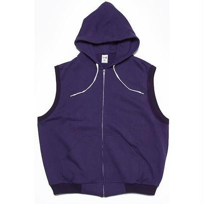 "VOTE MAKE NEW CLOTHES ""BIG VEST HOODIE"" (パープル)"