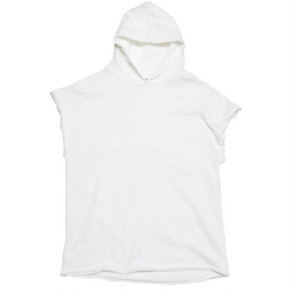 "VOTE MAKE NEW CLOTHES ""CUT OFF HOODIE"" (ホワイト)"