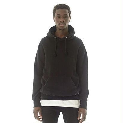 Overdyed Hooded Sweatshirt (ブラック)