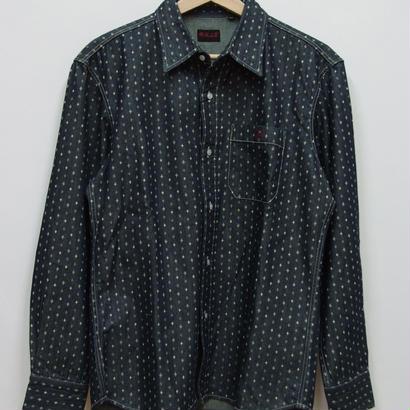 R.J.B DIAMOND DOT デニムシャツ DS110L