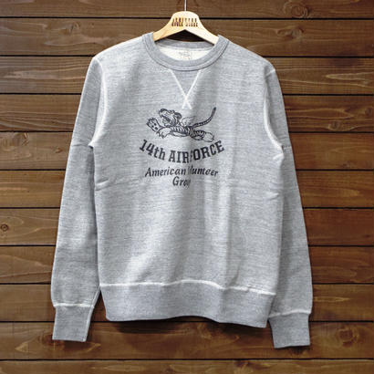"バズリクソンズ SET-IN CREW SWEAT ""14th AIR FORCE"" BR66495"