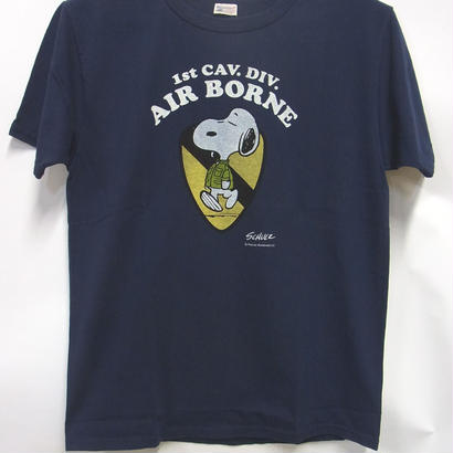 バズリクソンズxPEANUTS Tシャツ BR77287 「AIR BORNE」