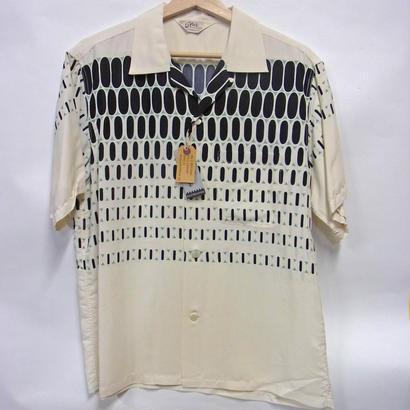 スターオブハリウッド 半袖オープンシャツ SH37280 「ELVIS DOTS」