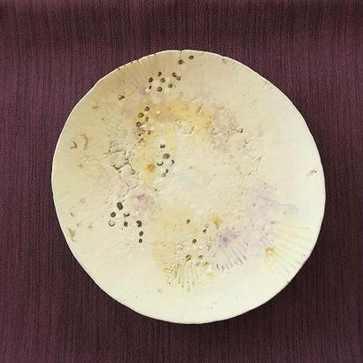 四寸皿 ①一点もの、神谷麻穂(高岡)