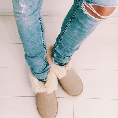 ショートブーツ、24cm