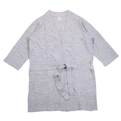 12/- JERSEY LONG CARDIGAN for ladies -MIX GRAY-