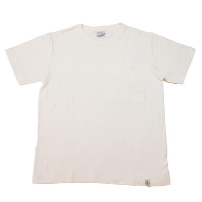 LOOPWHEEL POCKET T-SHIRTS -OFFWHITE-