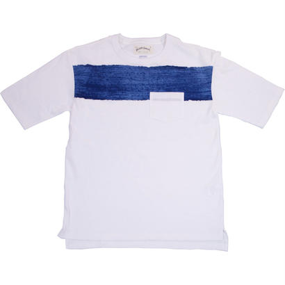 WIDE POCKET TEE - WHITE