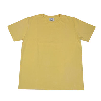 V.G. S/S TEE -SMOKE YELLOW-