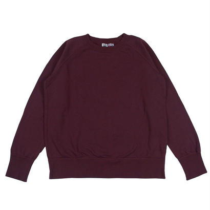 7.5 oz. USA FLEECE RAGLAN SWEAT -BURGUNDY-