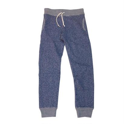 LOOPWHEEL SWEAT PANTS -MIX NAVY-