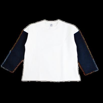 MERINGUE FLEECE CREW NECK -OFF WHITE-
