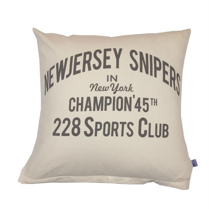 GRAPHIC CUSHION -NEW JERSEY-