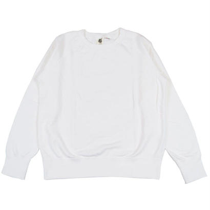 7.5 oz. USA FLEECE RAGLAN SWEAT -WHITE-