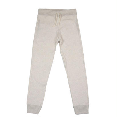 LOOPWHEEL SWEAT PANTS -OATMEAL-