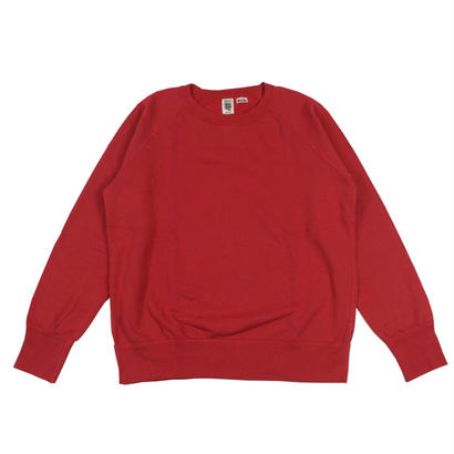 7.5 oz. USA FLEECE RAGLAN SWEAT -SMOKE RED-
