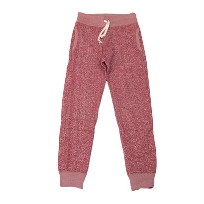 LOOPWHEEL SWEAT PANTS -MIX WINE-
