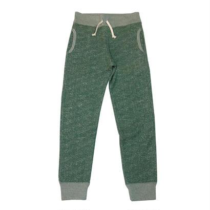 LOOPWHEEL SWEAT PANTS -MIX GREEN-