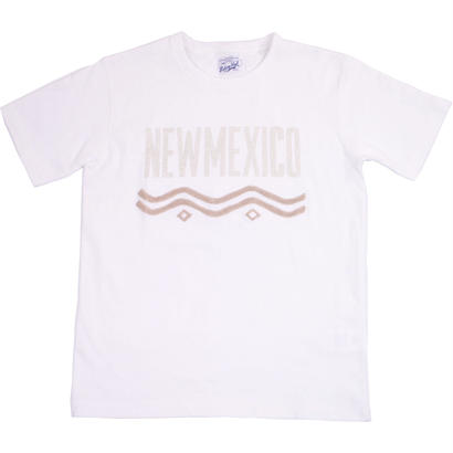 HANDLE EMBROIDERY CITY TEE -WHITE-