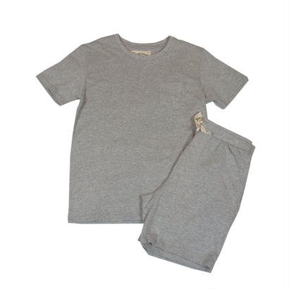 JERSEY T-SHIRT SET -MIX GRAY-