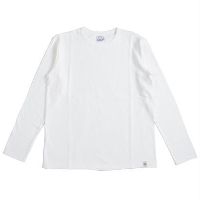 LOOPWHEEL L/S TEE -OFF WHITE-