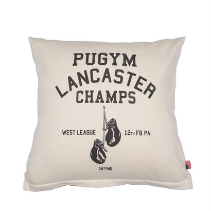 GRAPHIC CUSHION -PU GYM-