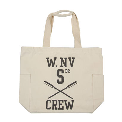 CANVAS GRAPHIC TOTE -W.NV-