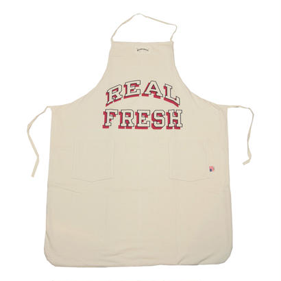 GRAPHIC APRON -REAL FRESH-