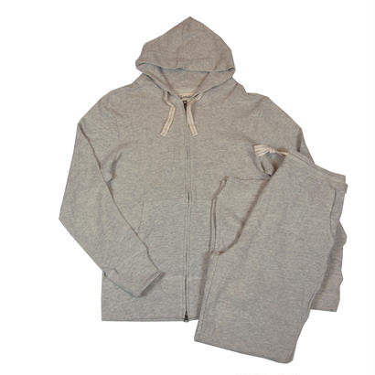 FLEECE PARKA SET -MIX GRAY-