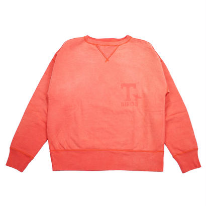 SUNBURN PROCESSING CREW NECK -ORANGE-