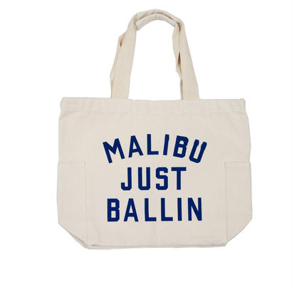 CANVAS GRAPHIC TOTE -MALIBU-