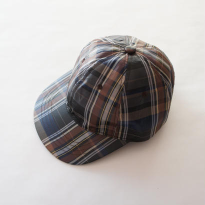 Checkboy Cap ( brown ) /  THE PARK SHOP