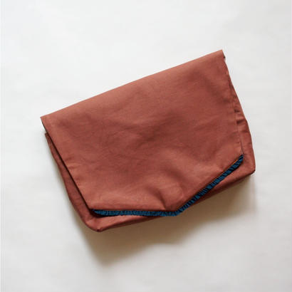 Diaper pouch ( brick brown ) / in the park original