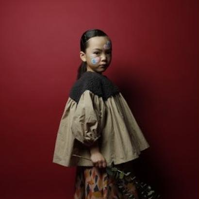 Boa Gather Blouse // folkmade