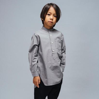 pullover band collar long shirt  / EAST END HIGHLANDERS
