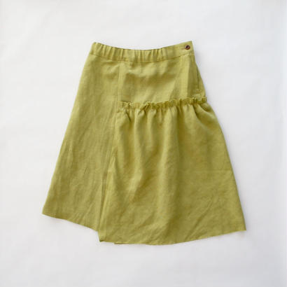 asymmetric cut off skirt / EAST END HIGHLANDERS