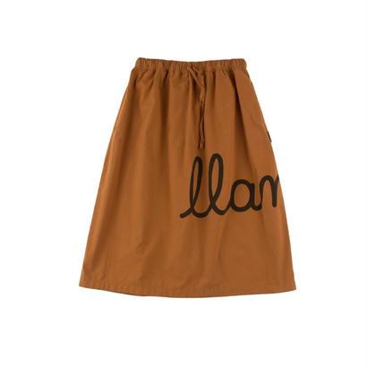 llama maxi woven skirt / tinycottons