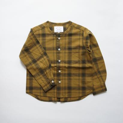 Collarless Shirt // EAST END HIGHLANDERS