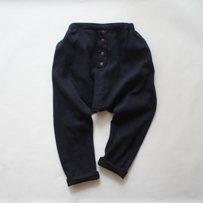 LIRE trousers (navy marl) / treehouse