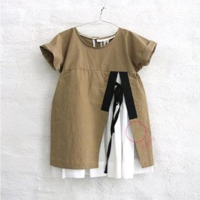 OUTLET / ANA dress (amber.5Y) / TREE HOUSE