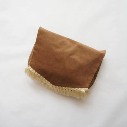 Diaper pouch ( chocolate x cream ) / in the park original