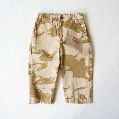 wide pants (desert camouflage) / EAST END HIGHLANDERS