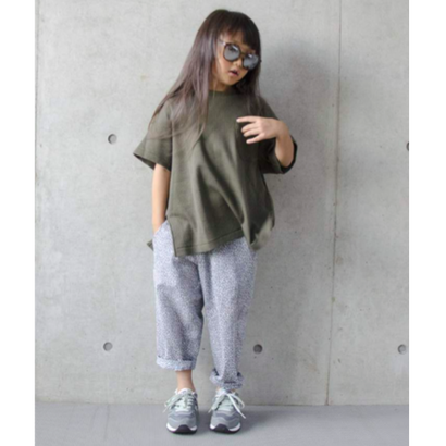 flower wave pants (95.110) / MOUN TEN.