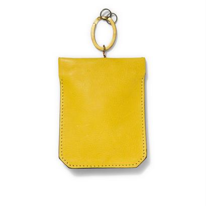 """"""" PAKARI """" Key case / Yellow"""