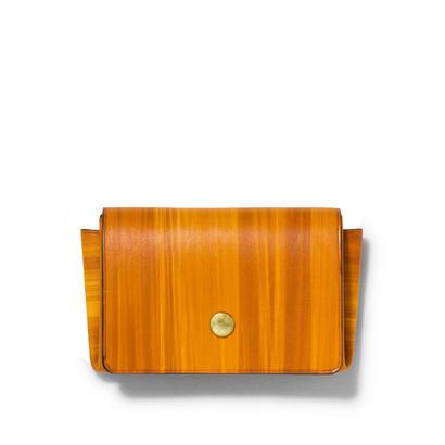 """ ORIGAMI WALLET "" Minimal / Brush Wood"