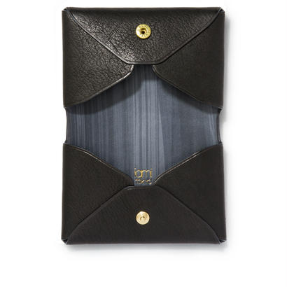 """ LETTER FROM "" Card case W / Black"