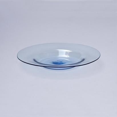 平皿 大(大皿) / Rie Glass Garden