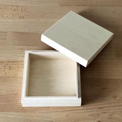 木箱 100×100×25