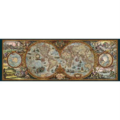 Hemisphere Map  :  The World - 29615